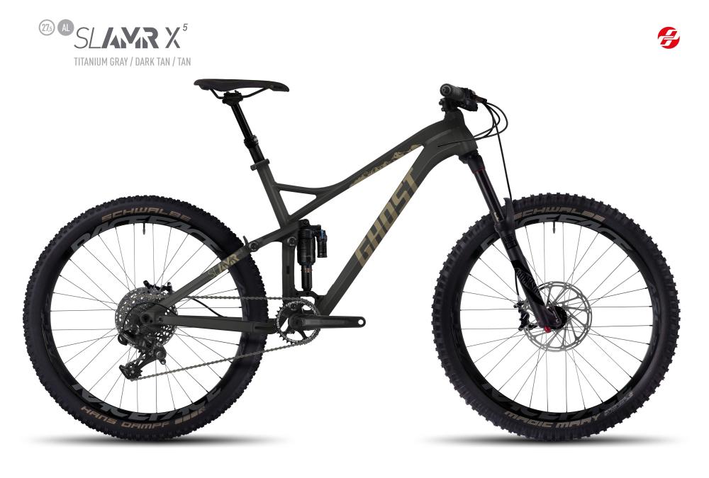GHOST SLAMR X 5 AL 27,5 U TI-GRY/DA-TAN/TAN M - Bikedreams & Dustbikes