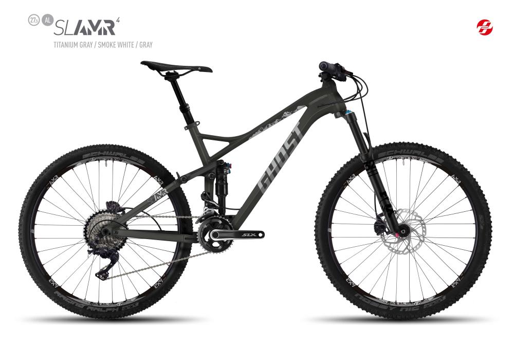 GHOST SLAMR 4 AL 27,5 U TI-GRY/SM-WHT/GRY XL - Bikedreams & Dustbikes
