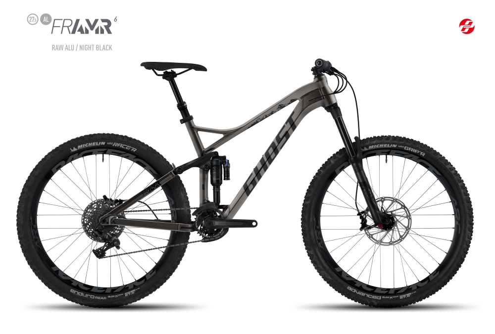 GHOST FRAMR 6 AL 27,5 U RAW/BLK L - Bikedreams & Dustbikes