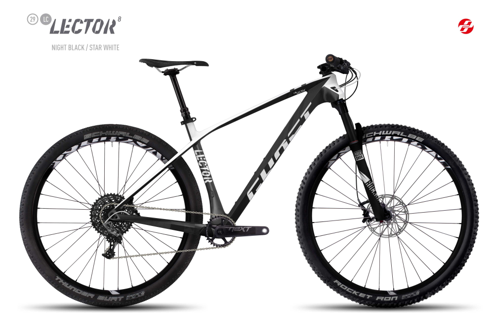 GHOST LECTOR 8 LC 29 U BLK/ST-WHT XS - Bikedreams & Dustbikes