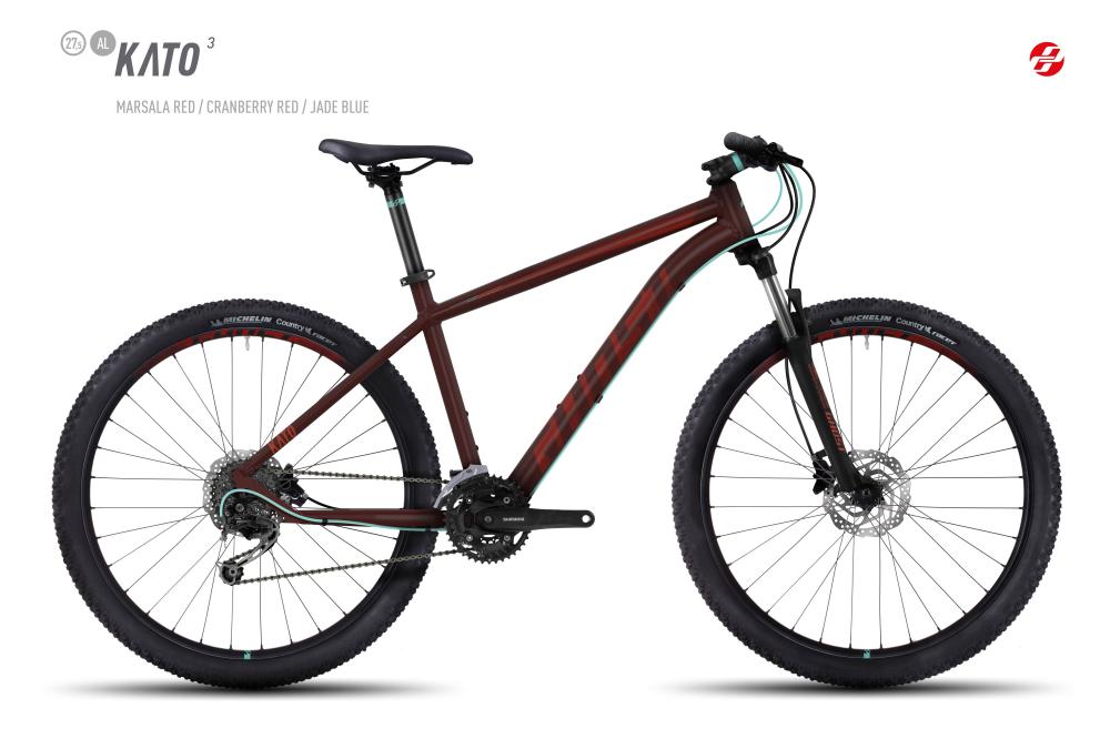GHOST KATO 3 AL 27,5 U MA-RED/CB-RED/JA-BLU M - Bikedreams & Dustbikes