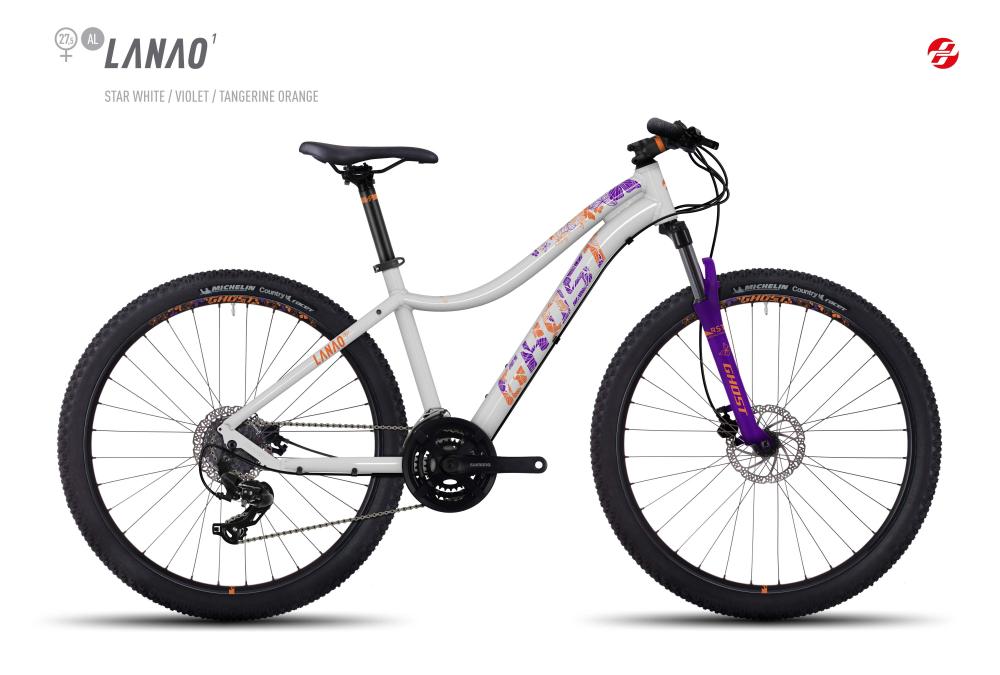GHOST LANAO 1 AL 27,5 W ST-WHT/VIO/TA-ORNG S - Bikedreams & Dustbikes