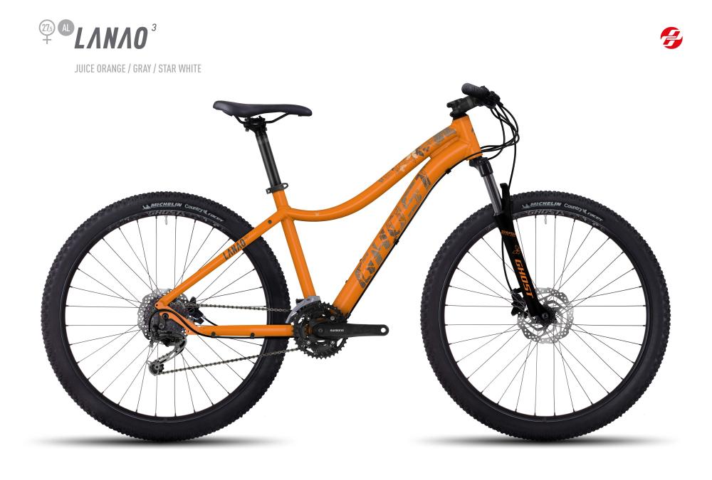 GHOST LANAO 3 AL 27,5 W JU-ORNG/GRY/ST-WHT S - Bikedreams & Dustbikes