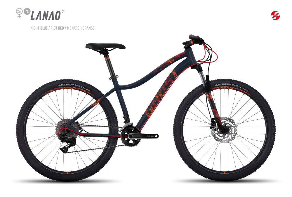 GHOST LANAO 7 AL 27,5 W NI-BLU/RI-RED/MO-ORNG S - Bikedreams & Dustbikes