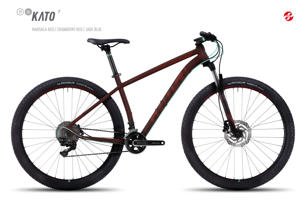GHOST KATO 7 AL 29 U MA-RED/CB-RED/JA-BLU XL - Bikedreams & Dustbikes